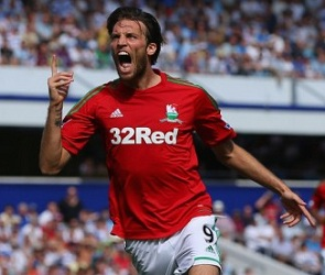 Michu, Swansea City 'midfielder'