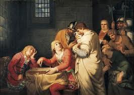 chess painting naples prison Johann Heinrich Wilhelm Tischbein