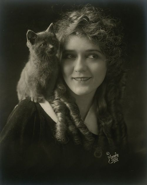 vintage portrait pickford