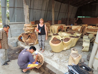 Acacia Wood, Monkey Wood, Thailand