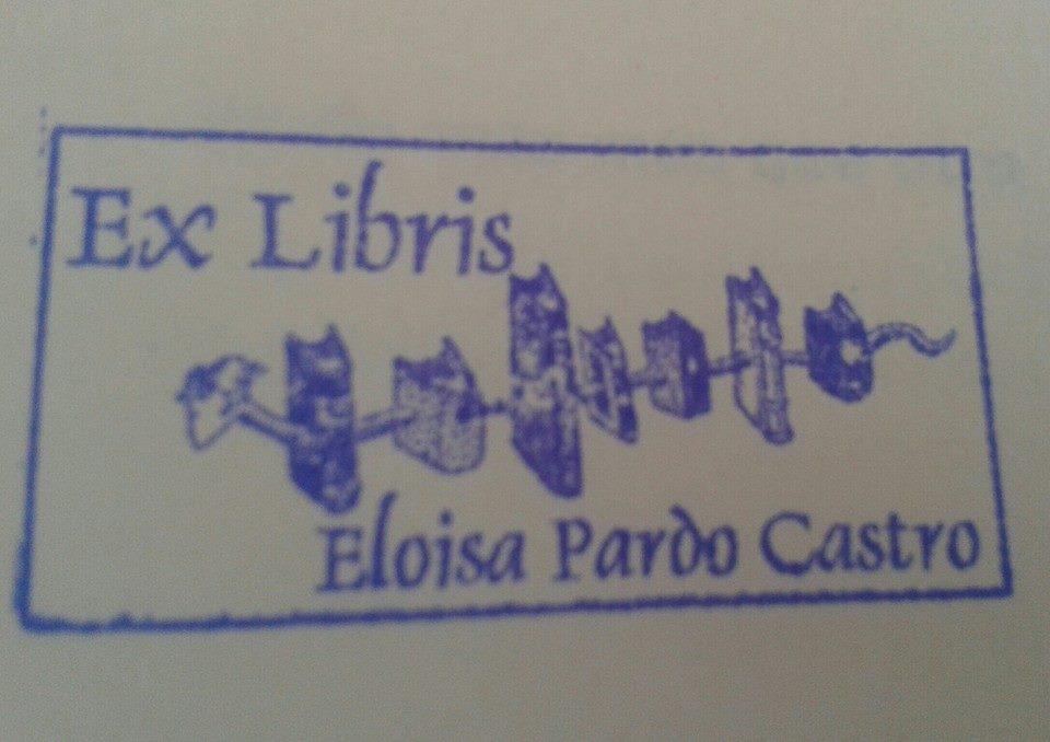Mi ex libris.