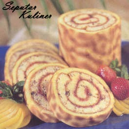 Resep Tiger Roll Cake