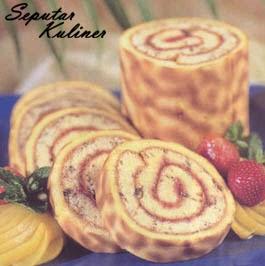 Resep dan Cara Membuat Tiger Roll Cake
