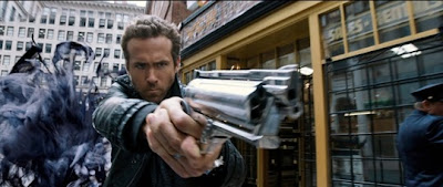 Ryan Reynolds in the R.I.P.D. Movie