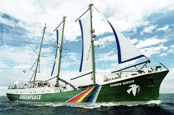 Kapal Greenpeace Rainbow Warrior II Pensiun