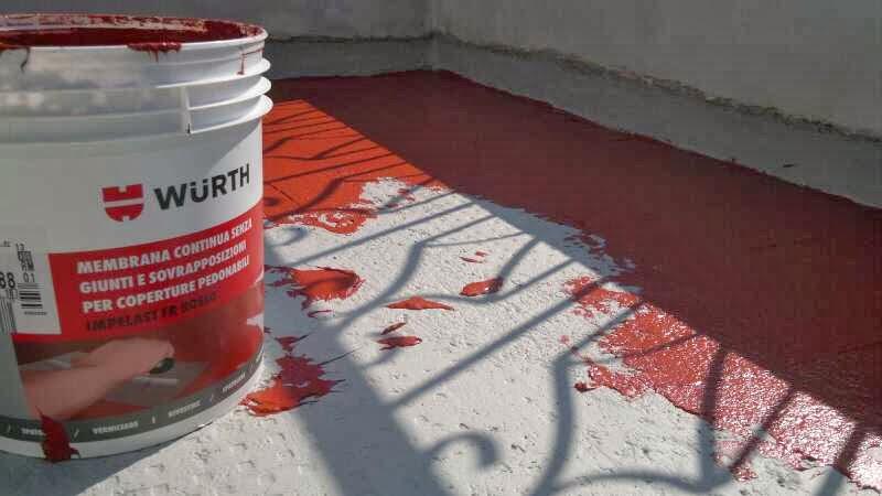 Edil Baldazzi: Rifacimento ed impermeabilizzazione terrazzo