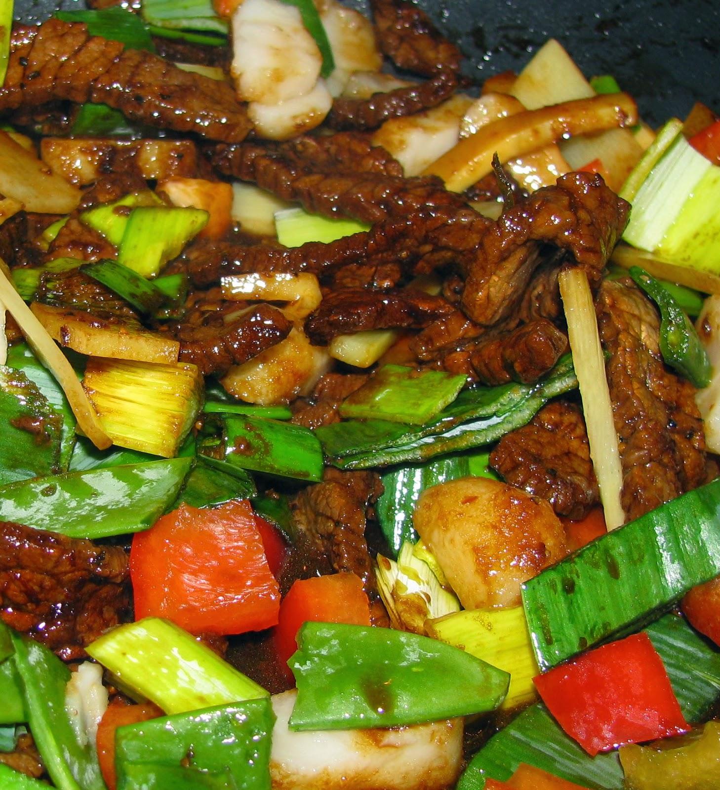 lövbiff wok marinad
