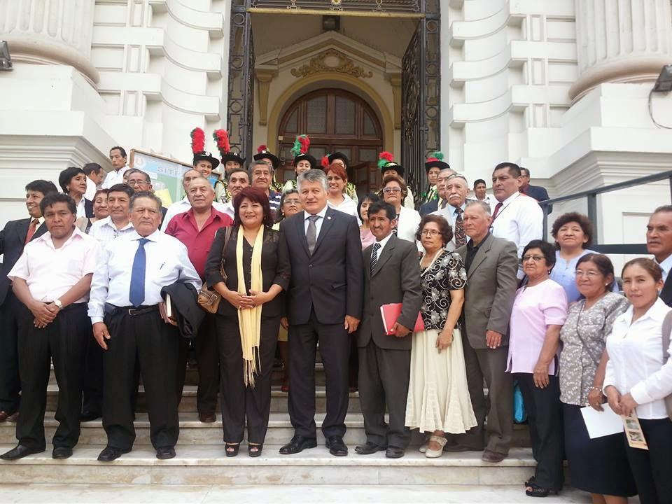 HUAÑEC Y SUS 60º ANIVERSARIO EN EL CONGRESO