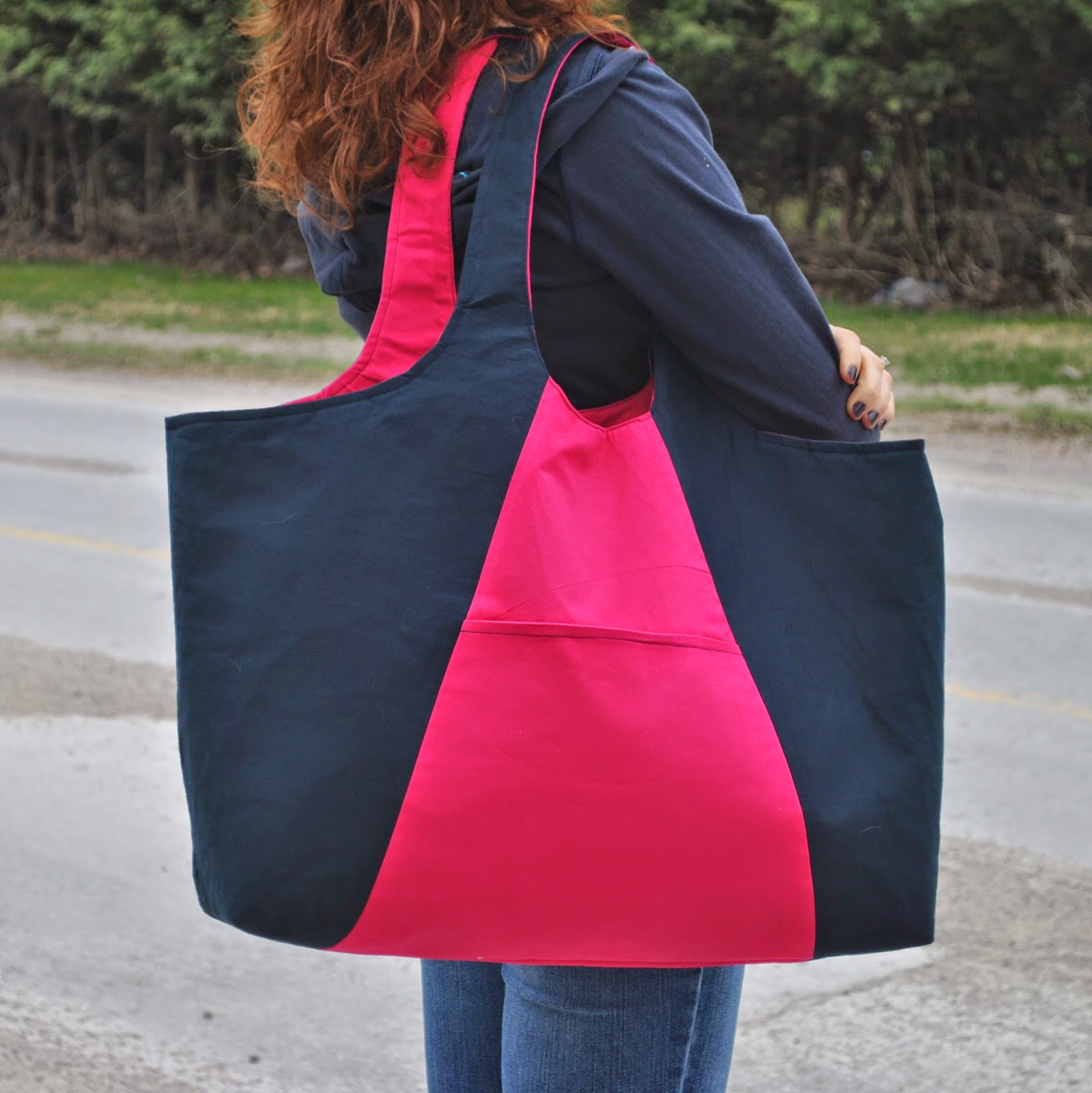 Colour Block Bag