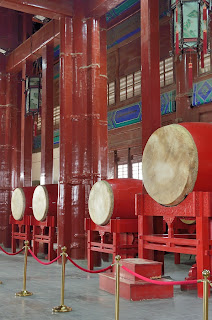 Drums at the Drum Tower in Beijing
