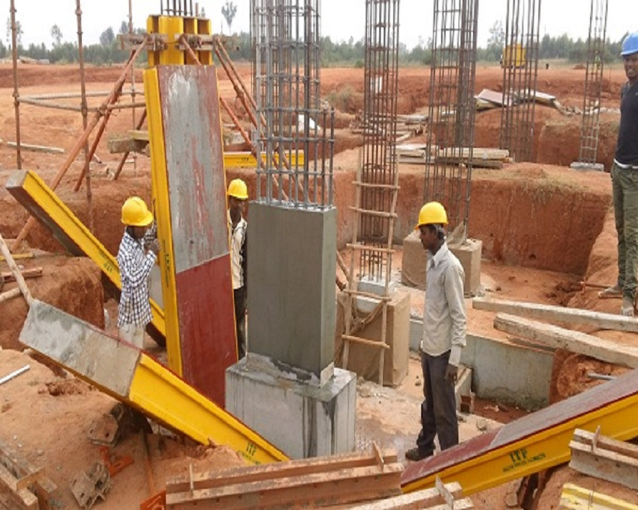 Ultratech Cement Foundation : The foreman