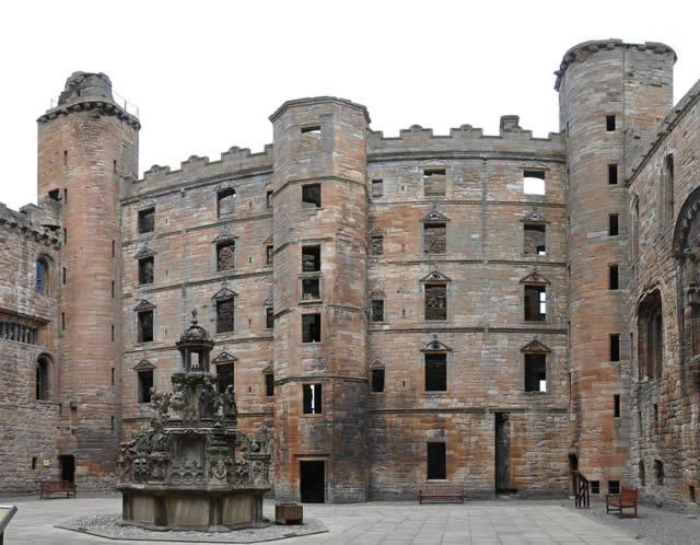 Linlithgow Palace - West Lothian, Scotland