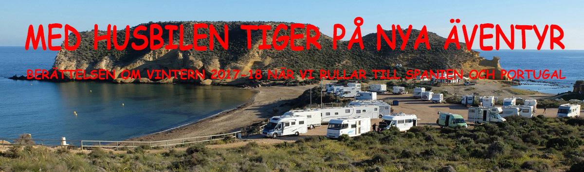 Med husbilen Tiger på nya äventyr