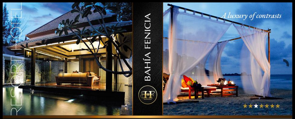 """Bilder fra det """"systjerners"""" hotellet Bahía Fenicia."""