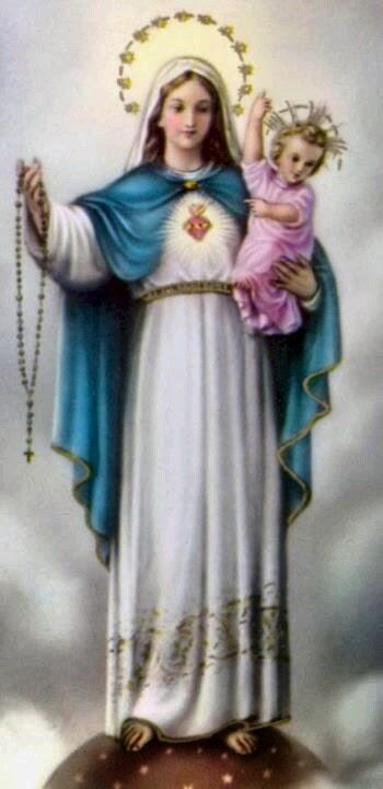 Ave Maria! Nossa Mãe Santíssima!
