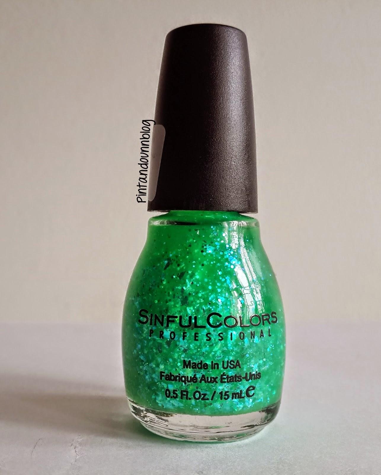 Pintando un blog: [Top2] Green Ocean-Sinful Colors