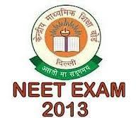 NEET UG 2013 Employment News