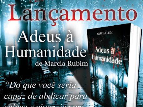 Lançamento de Adeus à Humanidade de Marcia Rubim, Novo Século em Niterói
