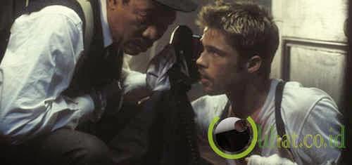 Brad Pitt dalam Se7en