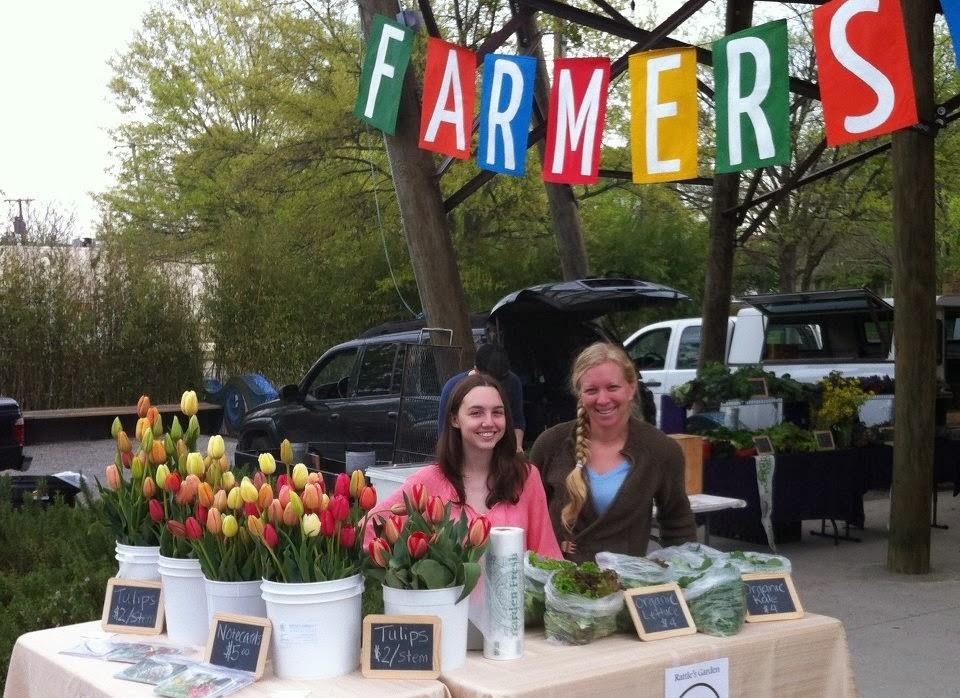 Bernice Garden's market