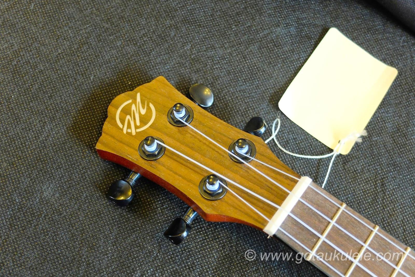CloudMusic HM12 Ukulele headstock