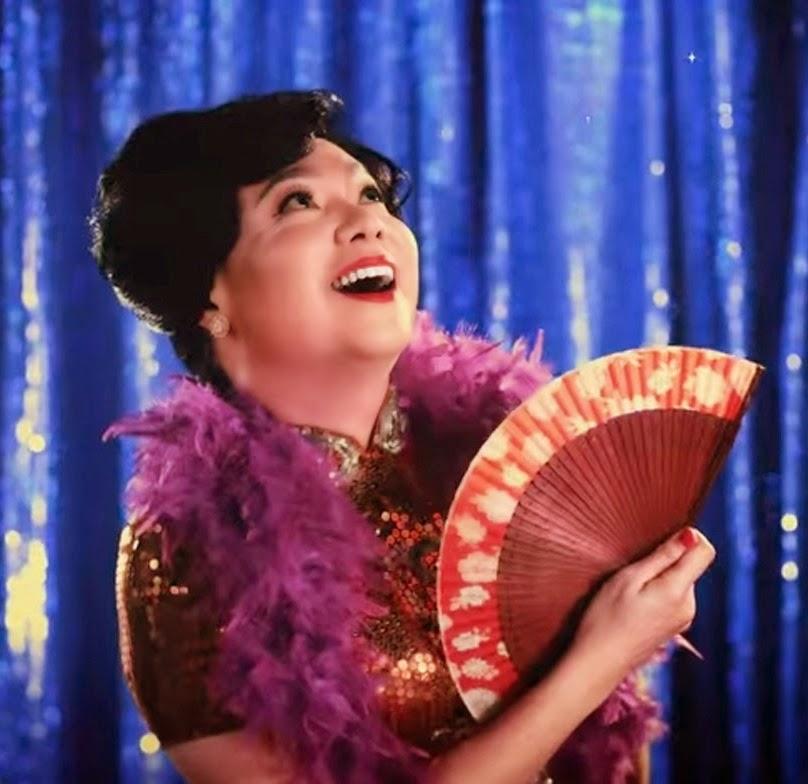 Old Shanghai songstress played by Sebastian Tan