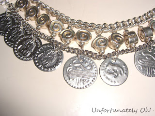 ethnic coin necklace