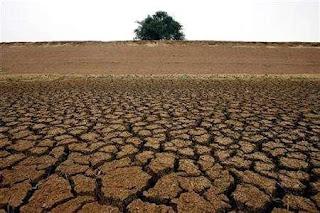 gambaran tanah yang kekeringan