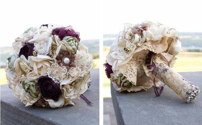 Wedding inspiration alternative wedding bouquets