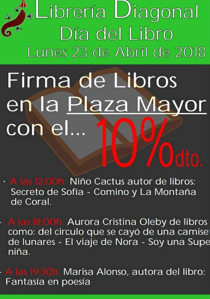 En Segovia  en la Librería Diagonal
