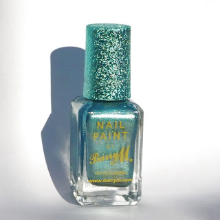Barry M - Superdrug Xmas 2012 Limited Edition Blue Foil