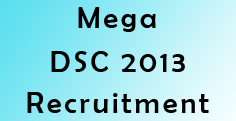 ap dsc 2013 recruitment