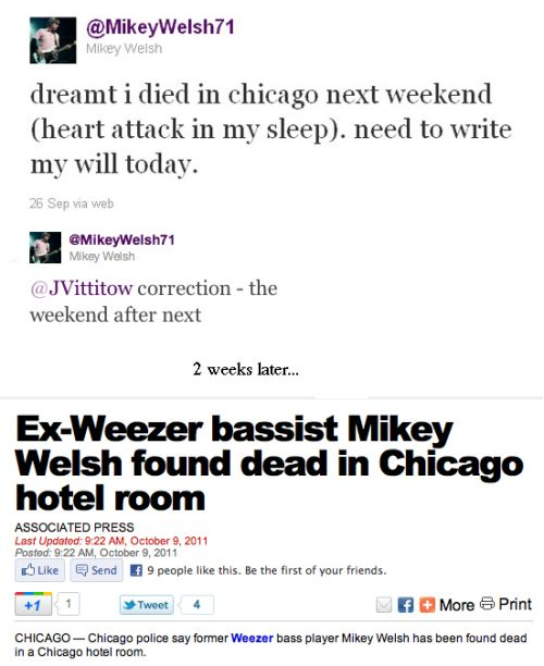 mikey welsh death tweet