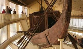 barca del faraón Keops