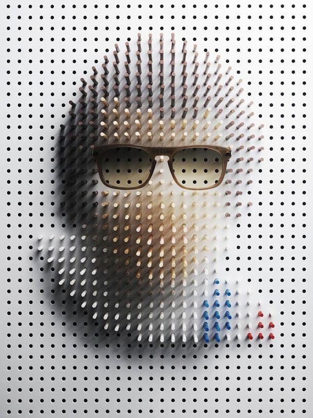 Philip Karlberg - retratos - Steve McQueen
