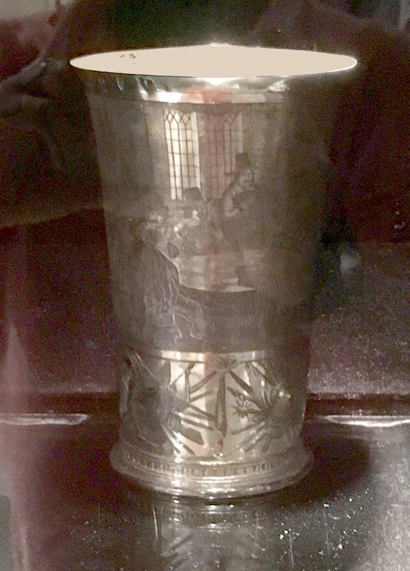 Copo de prata holandês, 1650 do IRB