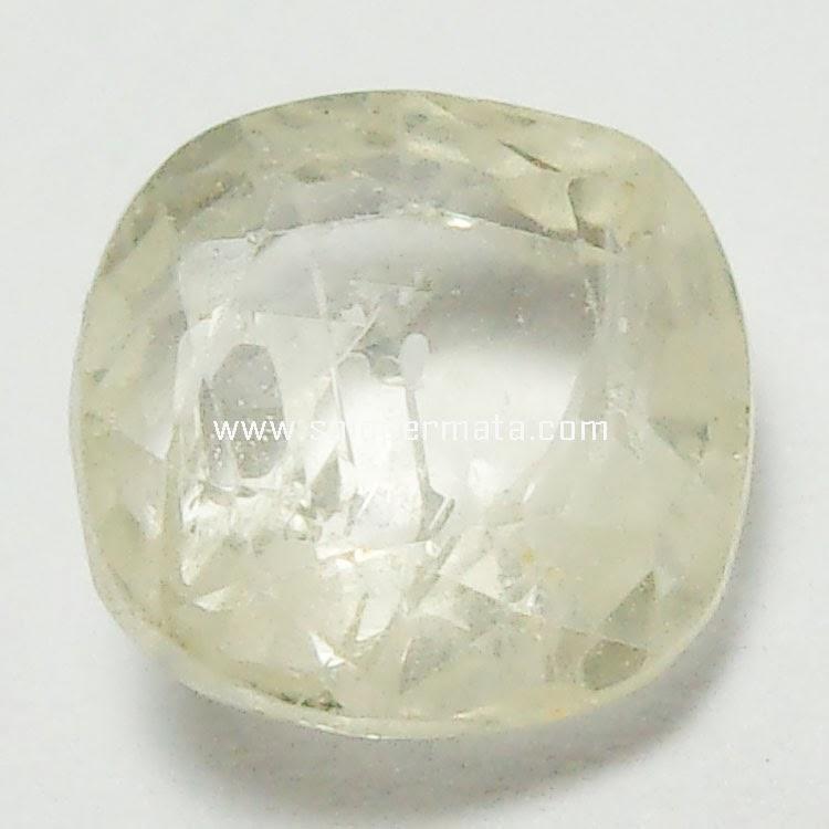 Batu Permata White Sapphire - 26A02