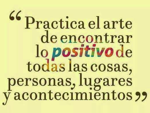 frases de reflexion viviendo en positivo