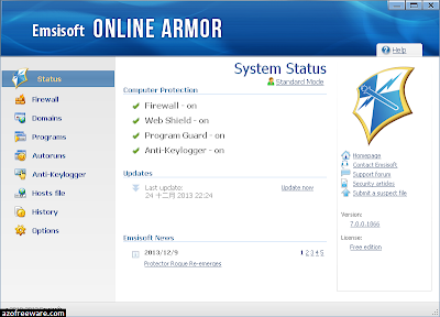 Online Armor Free Edition