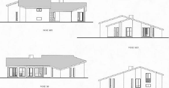 Plan de maison amandine cadwg maroc for Plan de maison avec autocad