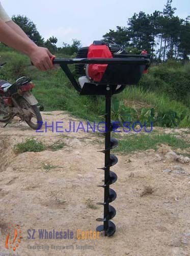 Gasoline Auger Drill6