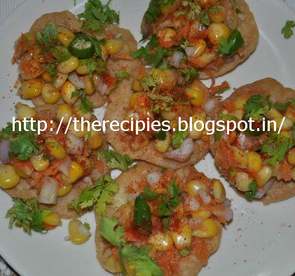 masala corn chaat