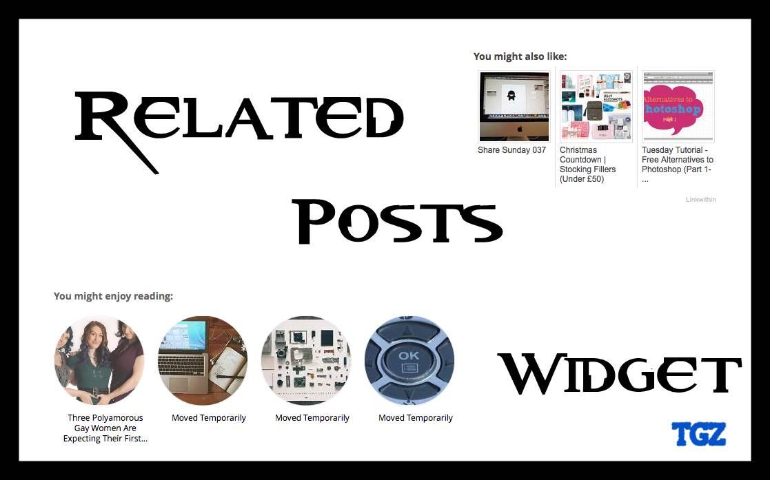 best blogger widgets every blog