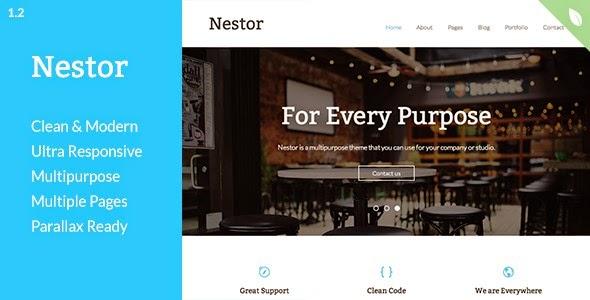 Nestor drupal theme