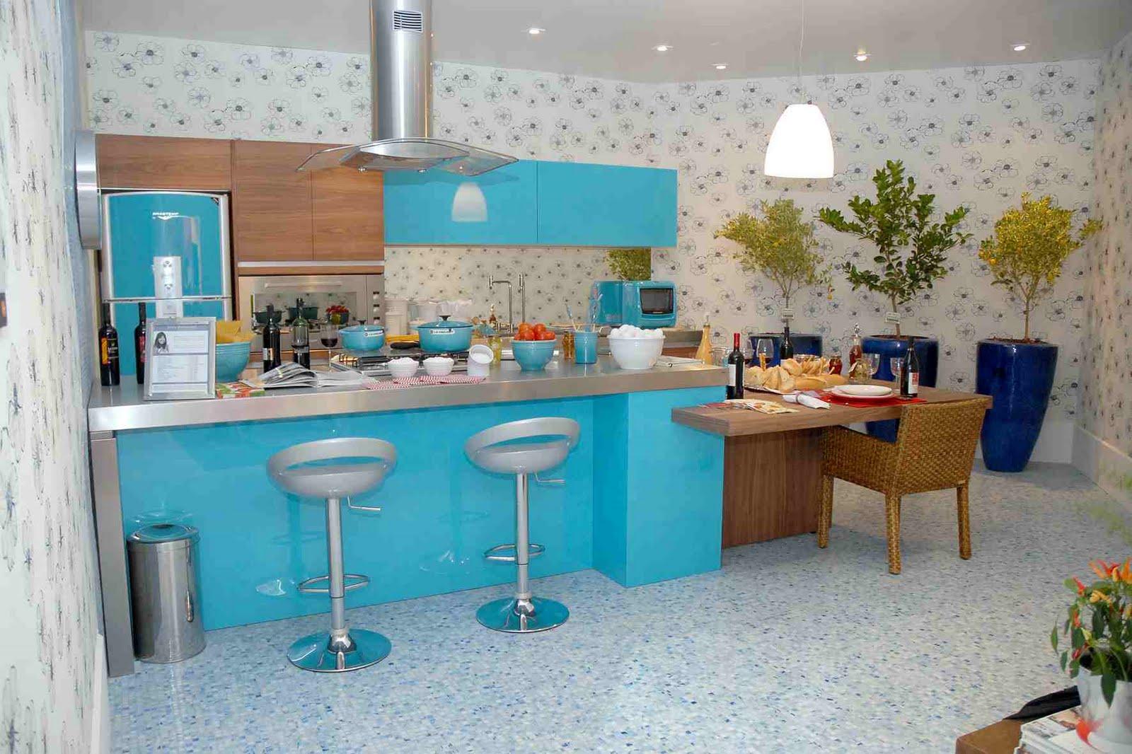 ; decoração de cozinhas; cozinhas modernas; cor; cores; home decor #2C8A9F 1600 1066
