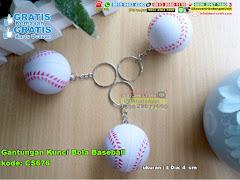 Gantungan Kunci Bola Baseball
