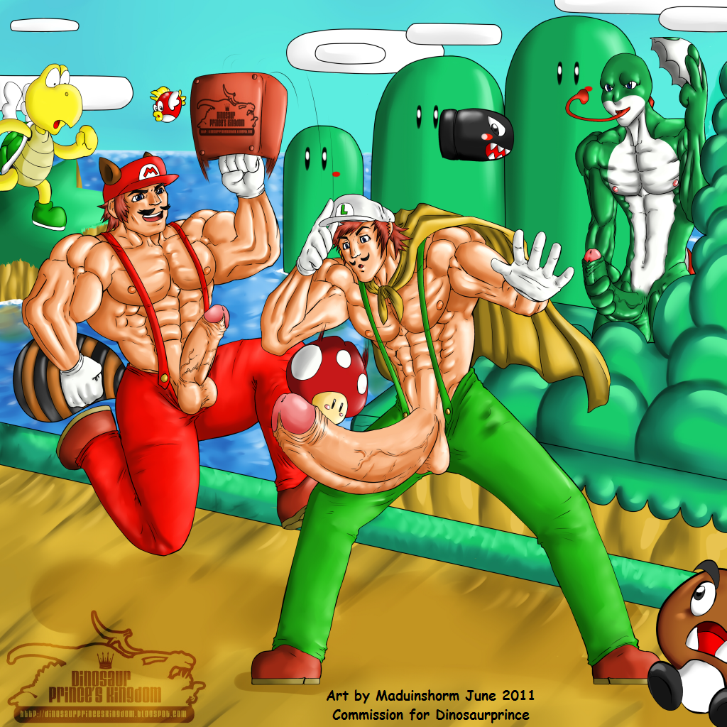 mario and luigi as girls naked