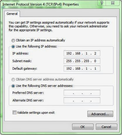 Cara mengatur IP Address di Windows 7