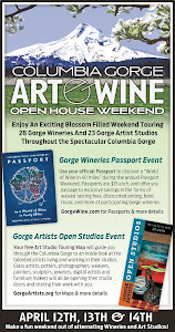 Wine &amp; Art Passport Weekend in the Columbia Gorge