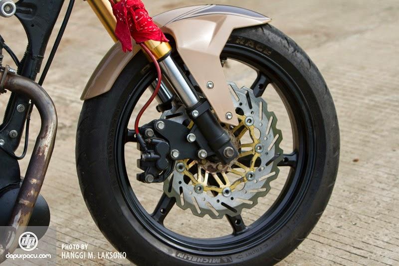 Modifikasi Honda Tiger Hasil Kolaborasi Tiga Aliran Terbaru 2014